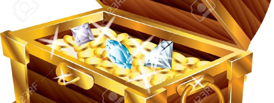 20364525-opened-treasure-chest-with-treasures-photo-realistic-vector-Stock-Vector